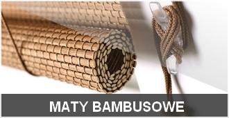 maty bambusowe